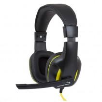 Наушники игровые Gemix W-390 Black/Yellow