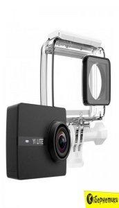 Экшн-камера Yi Lite 4K Action Camera Waterproof KIT Black (YI-97011) + Монопод и пульт д/у YI Selfie