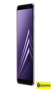 Смартфон Samsung Galaxy A8 (2018) A530 Orchid Grey (SM-A530FZVDSEK)
