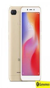 Смартфон Xiaomi Redmi 6 3/64GB Gold (N)