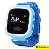 Детские умные часы Smart Baby Q60 GPS (Blue)