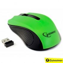 Мышь беспроводная Gembird MUSW-101 Green