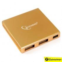 Концентратор USB GEMBIRD UH-006 4xUSB 2.0, без БП