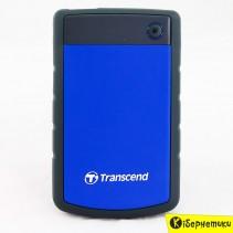 Винчестер внешний 2 TB Transcend TS2TSJ25H3B USB 3.0 Blue