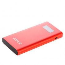 Аккумулятор портативный PowerBank Aspor 10000 mAh Q388 красный (Fast Charge)