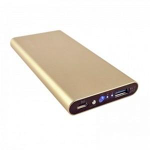 Аккумулятор портативный PowerBank Aspor 6000 mAh A373 золотой