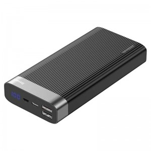 Аккумулятор портативный PowerBank Baseus Parallel Type-C PD QC3.0 20000 mAh (black)