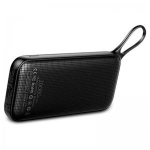 Аккумулятор портативный PowerBank Baseus Powerful Type-C PD QC3.0 20000 mAh (black)