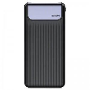 Аккумулятор портативный PowerBank Baseus Thin Digital QC3.0 10000 mAh (black)  - купить