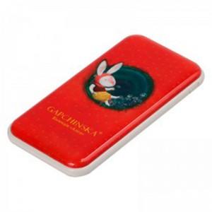 Внешний аккумулятор (Power Bank) Nomi P100 10000mAh Алиса красный