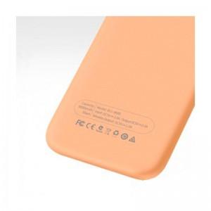 Аккумулятор портативный PowerBank Hoco B11 8000 mAh (Безпроводной заряд) Золотой