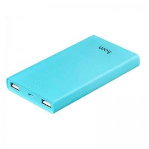 Аккумулятор портативный PowerBank Hoco B12 Khaki 13000 mAh Синий  - купить