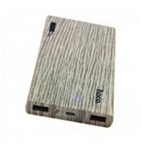 Аккумулятор портативный PowerBank Hoco B12B Wood 13000 mAh Ель