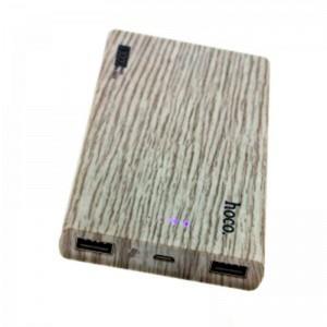 Аккумулятор портативный PowerBank Hoco B12B Wood 13000 mAh Ель  - купить