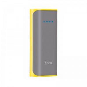 Внешний аккумулятор (Power Bank) Hoco B21 5200 mAh Gray  - купить
