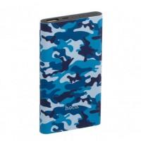 Аккумулятор портативный PowerBank Hoco J9 Camouflage (10000 mAh) синий