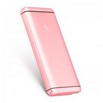 Внешний аккумулятор (Power Bank) Hoco UPB03 12000mAh pink