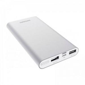 Внешний аккумулятор (Power Bank) Nomi E100 10000мАч Silver (260725)
