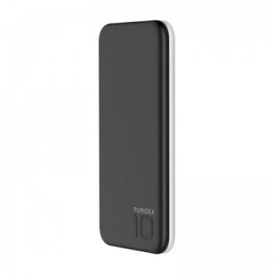 Внешний аккумулятор (Power Bank) Puridea S2 10000mAh Li-Pol Black/White (S2-Black White)  - купить