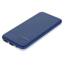 Внешний аккумулятор (Power Bank) Puridea S2 10000mAh Li-Pol Rubber Blue & White (S2-Blue White)
