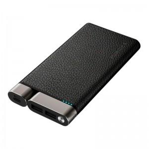 Внешний аккумулятор (Power Bank) Puridea X01 Leather Black  - купить