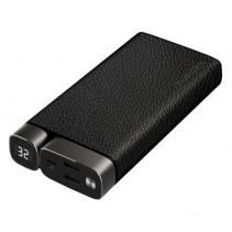 Внешний аккумулятор (Power Bank) Puridea X02 Leather Black