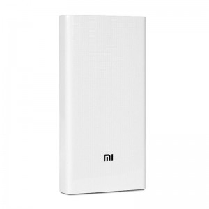 Внешний аккумулятор (Power Bank) Xiaomi Mi Power Bank 2C 20000mAh White (PLM06ZM)  - купить