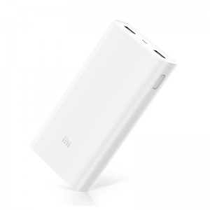 Внешний аккумулятор (Power Bank) Xiaomi Mi Power Bank 2C 20000mAh White (PLM06ZM)