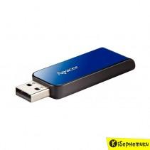Флешка Apacer 8 GB AH334 Blue USB 2.0 (AP8GAH334U-1)