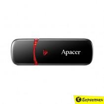 Флешка Apacer 8 GB AH333 Black USB 2.0 (AP8GAH333B-1)