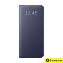 Чехол-книжка Samsung LED View для G955 Galaxy S8+ (фиолетовый) EF-NG955PVEGRU