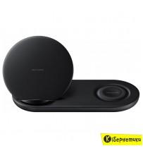 Беспроводное зарядное устройство Samsung Dual Wireless Charger Multi EP-N6100TBRGRU (черный)