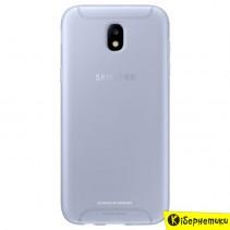 Чехол-накладка Samsung Jelly Cover для J5 2017 J530 (EF-AJ530TLEGRU) синий