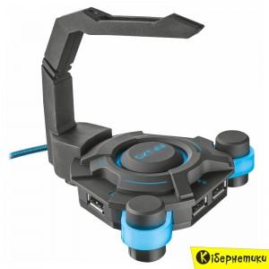 Концентратор USB hub Trust GXT 213 USB Hub&mouse Bungee (20816)  - купить