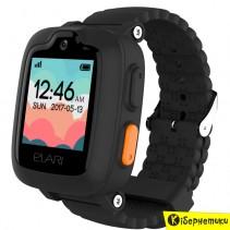 Детские часы Elari KidPhone 3G Black с GPS-трекером и видеозвонками KP-3GB