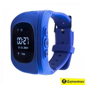 Смарт-часы UWatch Q50 Kid smart watch Dark Blue  - купить