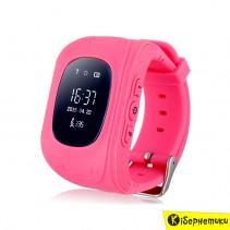 Детские умные часы Smart Baby Q50 GPS Smart Tracking Watch Pink