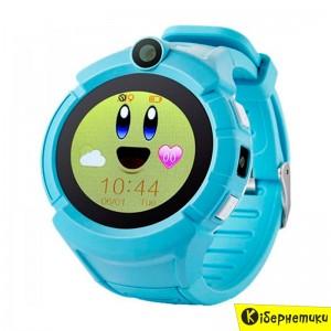 Детские умные часы Smart Baby Watch Q610S Blue  - купить