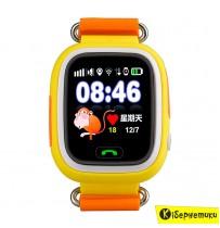 Детские часы TD-02 Q100 Orange (с GPS трекером)