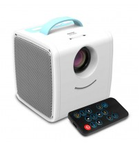 Міні проектор Q2 Kids Story Projector (White-Blue)