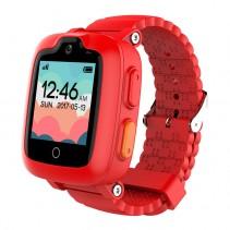 Детские часы Elari KidPhone 3G Red с GPS-трекером и видеозвонками KP-3GR(S/N)
