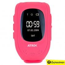 Смарт-годинник Atrix Smart watch IQ300 GPS Pink