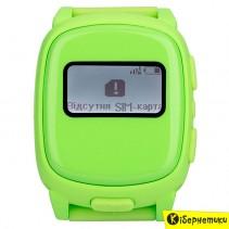 Детские часы Nomi Watch W1 Green (с GPS трекером)