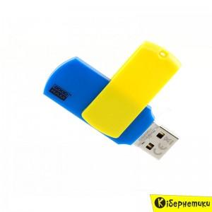 Флешка GOODRAM 8 GB Colour UKRAINE PD8GH2GRCOBYR9  - купить