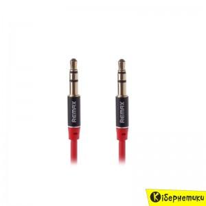 Аудиокабель REMAX 3.5mm Aux Jack Cable L100 / L200 2m Red  - купить