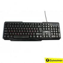 Клавиатура Maxxter KB-211 USB, Black