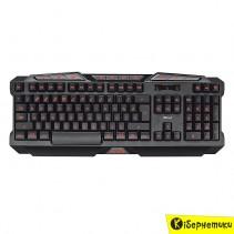 Клавиатура игровая Trust GXT 280 Black LED