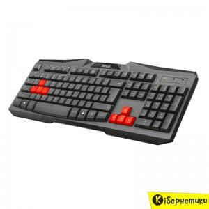 Клавиатура Trust Ziva Keyboard RU (21655)