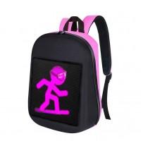 Led Рюкзак розовый