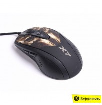 Мышка A4 XL-750BH Optical Gamer Bronze-Black